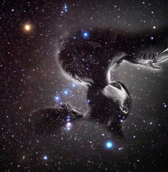 Ты - жизнь, творящая произведения, солнечный луч, любовь пробуждающий, в каплях росы - звезды отражения, ты